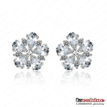Exquisite Fashion Flower Jewelry Earrings/Brinco (CER0026-B)