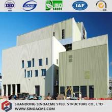 Peb-Stahlrahmen für Industrieanlage mit Laufkran