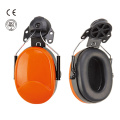 Hearing protector safety earmuff for helmets