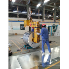 Galvanized steel sheet and coil 112118