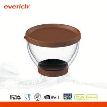 Gâteau promotionnel café transparent