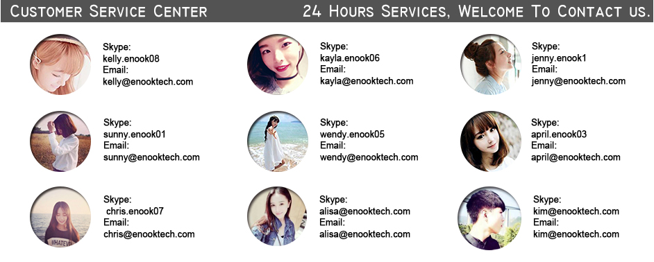 enook customer services