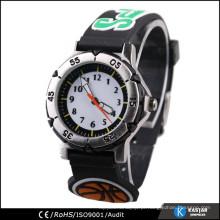 Relógio de faixa de garotos 3D para estudantes