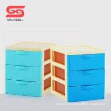 desktop small storage drawer baby plastic cabinet for sale