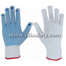 Nylon Glove with PVC Dotted Palm (S5103-2)
