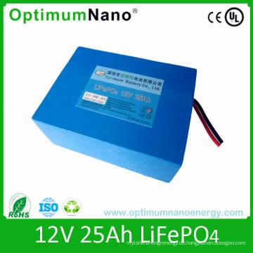 LiFePO4 12V 25ah UPS Batterie