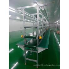Línea de montaje de máquina de leche de soja de electrodomésticos
