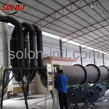 CE Sawdust Horizontal Rotary Drum Dryer for Sale