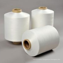 New Varied RW white FDY warp undyed GRS Recycled polyester yarn prices charts on dyeing tube for care label