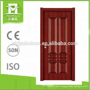 Modern design melamine HDF door popular in India market