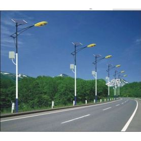 Outdoor solar wind street Lamp post for sale