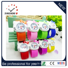 Square Slap Wristwatch Silicon LED Watch for Kids (DC-1063)