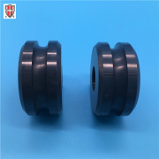 silicon nitride ceramic yarn wheel guide roller caster