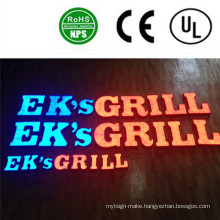 High Quality LED Full Lit Advertising Signs Letters