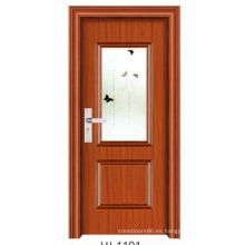 Puerta del dormitorio de la puerta de vidrio (FD-1101)