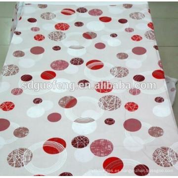 Impreso TC 65/35 32 * 32 76 * 56 240 cm sábana tela en Home Textiel
