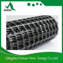 Polipropileno Biaxial PP Plastic Pet Biaxial Plastic Geogrid 120 / 120kn