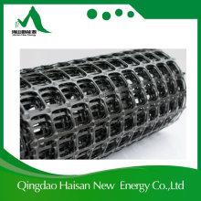 Materiais sintéticos 30kn Pet Polyester Glass Fiber PP Planstic Geo Grid
