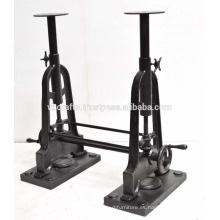 Base de la mesa de la manivela de doble dibujo industrial
