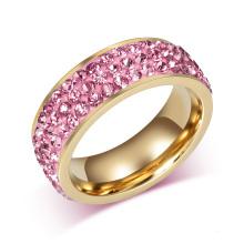 Benutzerdefinierte Fancy Cool Gold Frauen Ringe Designs