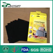 Bolsa de tostadora reutilizable antiadherente, revestimiento de PTFE
