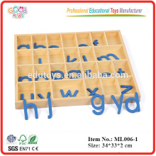 Education Toys Products Wooden Movable Alphabet