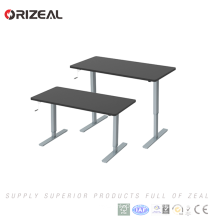 modern office Hand crank Manual height adjustable Sit stand working desk