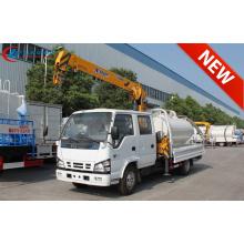 Tout nouveau camion-grue ISUZU Double Cabin 2tons