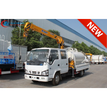 2019 New ISUZU Double Cabin 2tons Crane Truck