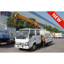2019 Novo ISUZU Double Cabin 2tons Crane Truck