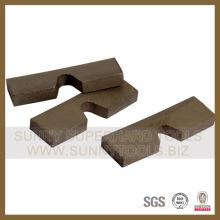 Segmento de Grantie de corte de segmento de granito
