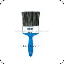 cepillo de pintura de la manija plástica azul de la cerda de China