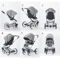 french baby stroller china supplier with 5-point safety belts