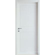 Blanco Primed 5 mm MDF finger-joint puerta de leña de madera blanda