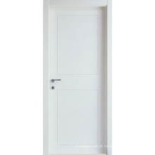 Branco Primou a porta nivelada do softwood da Dedo-Junção do MDF de 5mm