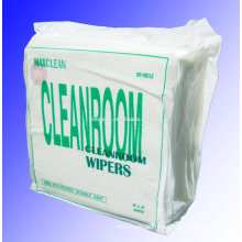 Class 100 9''X9'' 120g/m2 100% Polyester Cleanroom cleaning wipers/wipe