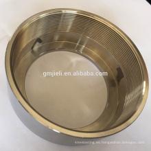 Fundición de fundición Tubos de acero inoxidable Conexiones / acoplamiento / manguito de conexión