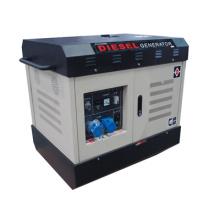 Generador diesel aprobado CE (refrigerado por agua, silencioso)