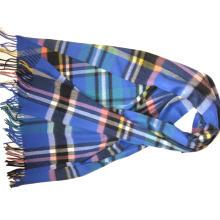 Cashmere Plaid Woven Shawls Xc09124A