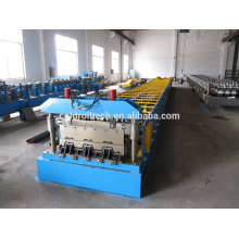 Steel structure metal deck roll forming machine
