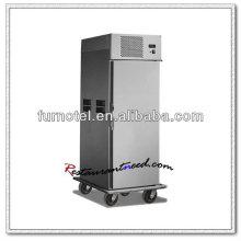 K220 1 puerta de acero inoxidable en el calentador de alimentos del coche