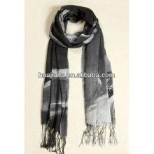 elegant women silk/cashmere scarf