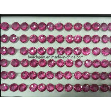 Pedra de forma côncava Topázio rosa de fogo de artifício para joias