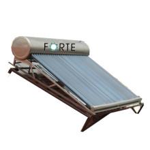 Glasrohr Nicht-Druck Solarwarmwasserbereiter