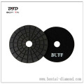 4 inch Black buff high brightness polishing pad