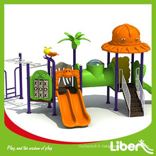 2014 Hot Sale outdoor playground slide Equipement pour enfants LE.DW.002