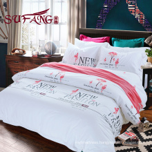 top 5 luxury 5 star High Quality Hotel Bedding Linen Supplier comforter cotton print bedding sets