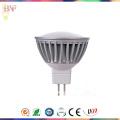 Proyector de aluminio de fundición a presión a troquel del poder más elevado LED Gu5.3 con luz del día / Warmwhite