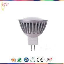 Proyector MR16 DC12V LED para 1W / 3W / 5W con 2700k / 4000k / 6400k