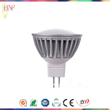 Projecteur de MR16 DC12V LED pour 1W / 3W / 5W avec 2700k / 4000k / 6400k